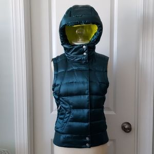 North Face Emerald Aconcagua Hooded XS Down Vest
